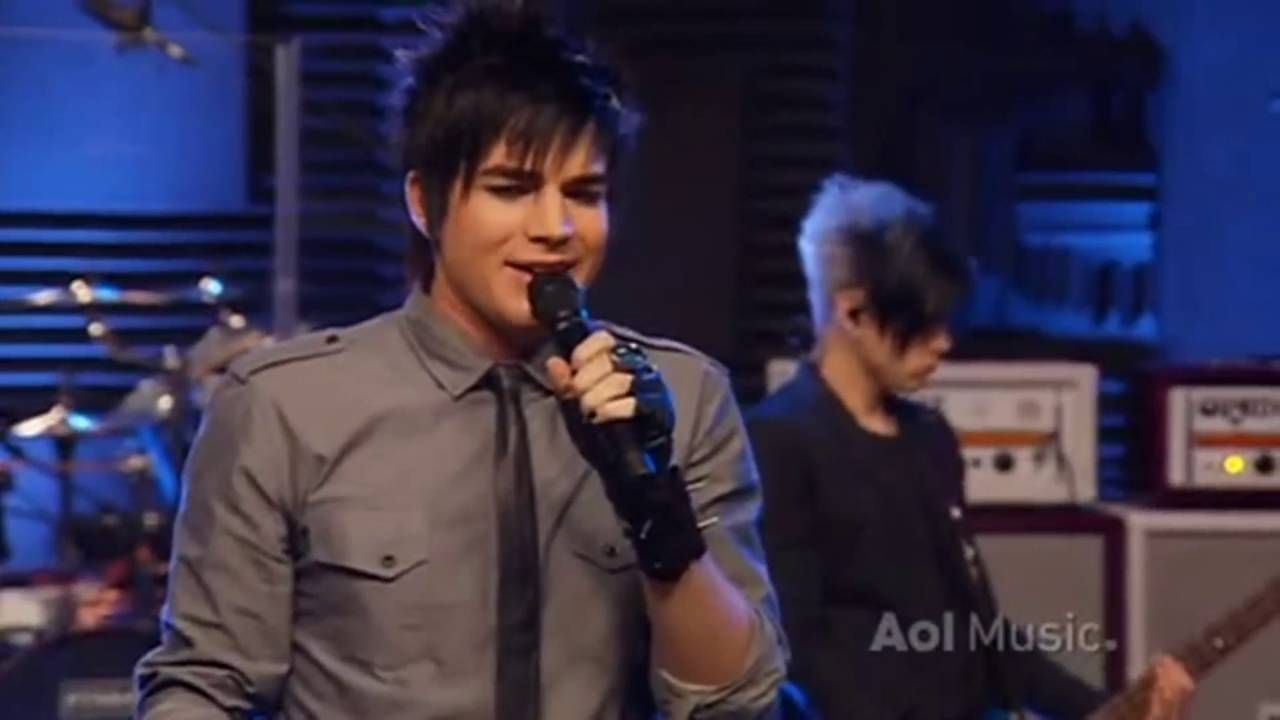 Adam Lambert - Broken English (AOL Sessions) | Adam