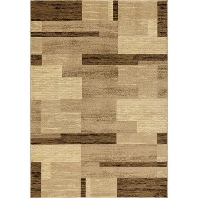 Orren Ellis Him Premium Geometric Vintage Beige Area Rug Products