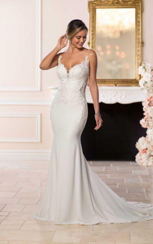 Designer Vintage Wedding Gown   Stella york, Vintage weddings and Gowns