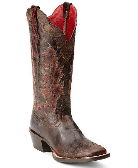 3d6e2f70a1e Ariat Cabellera Wingtip Cowgirl Boots - Sheplers | Cowgirl Boots ...