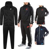 Mens Nike Air Limitless Red Black Tracksuit Hoodie Bottoms