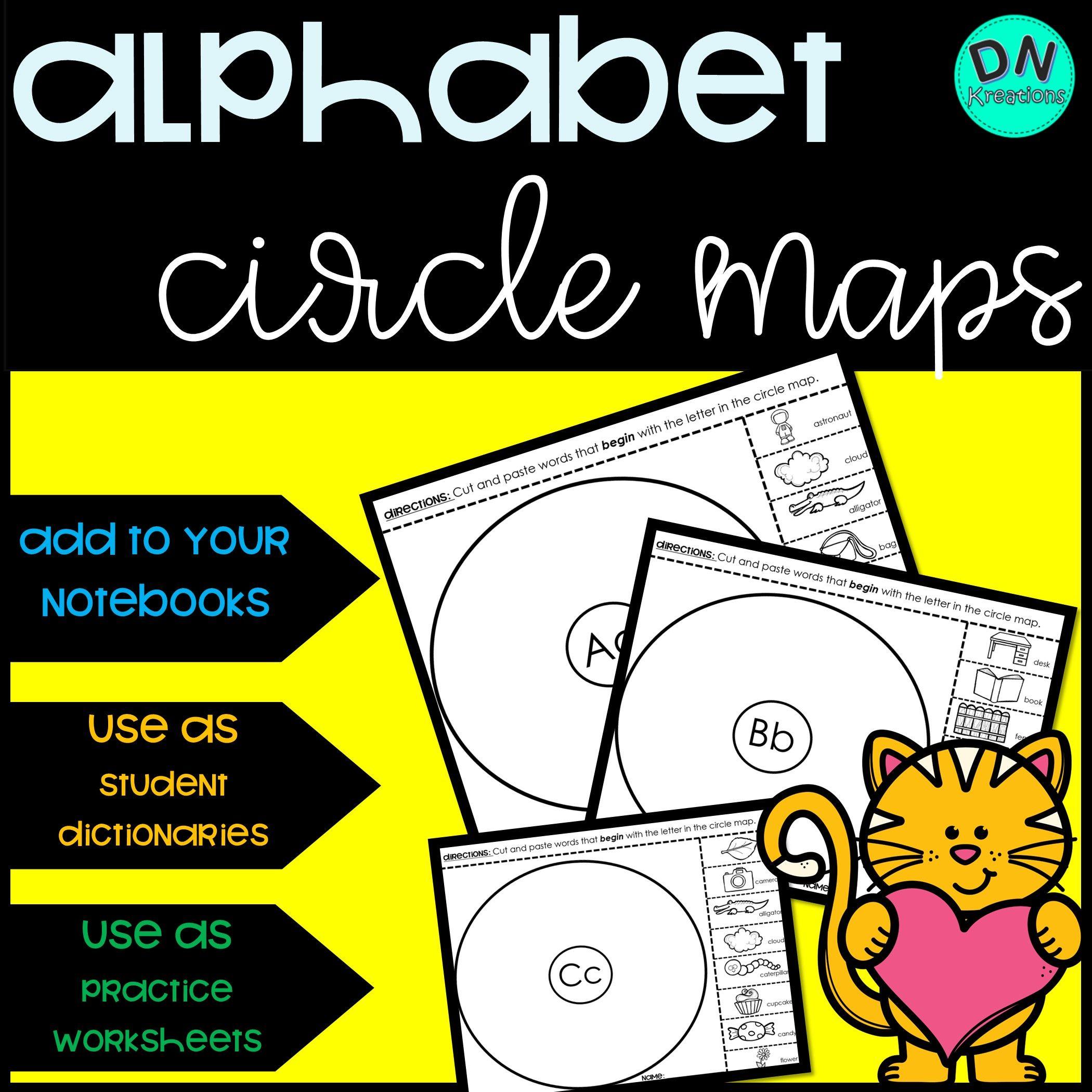 Alphabet Graphic Organizer In