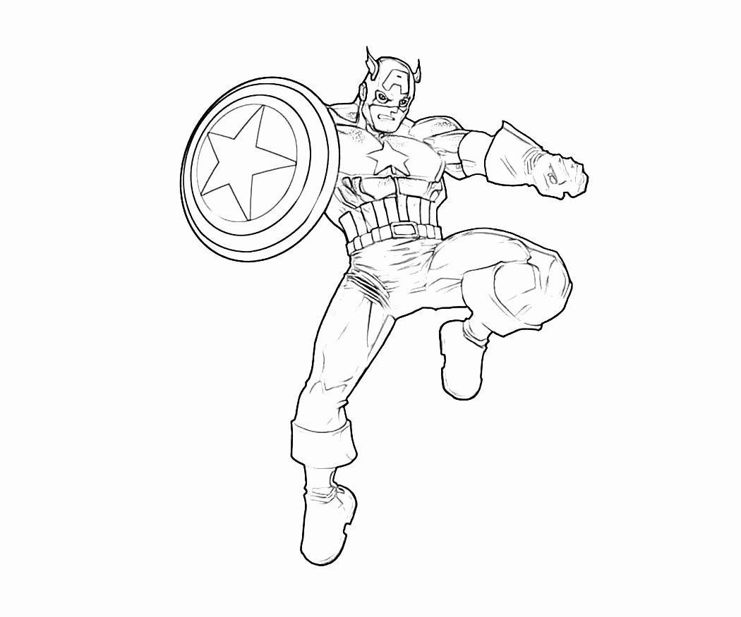 Captain America Shield Coloring Page Beautiful 50 Captain America Shield Coloring Pa Captain America Coloring Pages Spiderman Coloring Superhero Coloring Pages