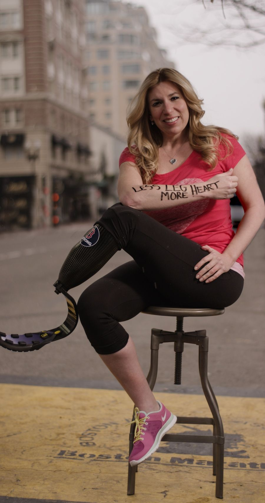 Dear World: stories of the survivors of the Boston marathon bombing. So amazing