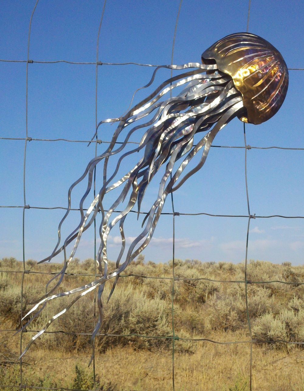 metal jellyfish sculpture - Google Search | Artwork Inspiration ...