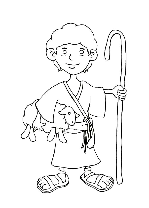 David The Shepherd Boy Coloring Pages For Kids Kids Play Color Coloring Pages For Boys Coloring Pages For Kids Coloring Pages