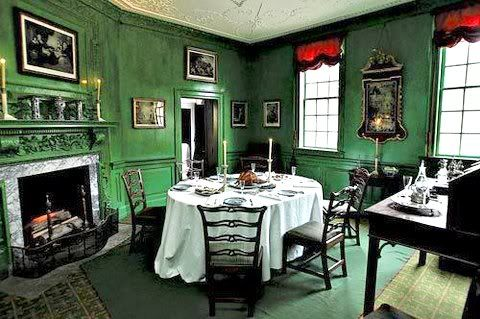 The small Dining Room Mount Vernon - Google Search | Mount Vernon ...