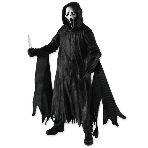 Scream 4 Ghost Face Classic Mask Action Figure