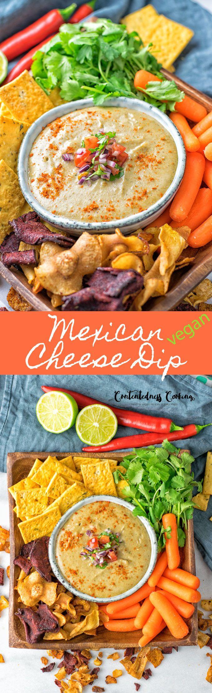 Mexican Cheese Dip [vegan, gf] Recipe Appetizer
