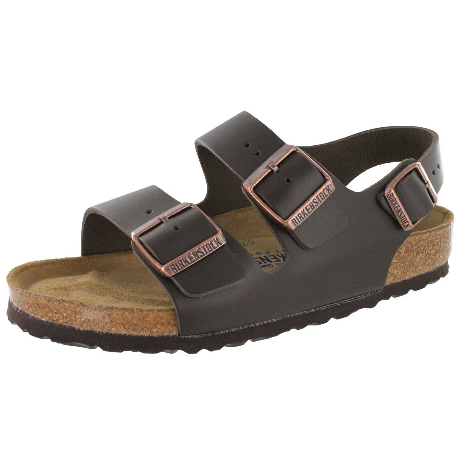 Birkenstock Women s Milano Backstrap Cork Footbed Sandal    Awesome outdoor  product. Click the image   Birkenstock sandals f802e8b775c