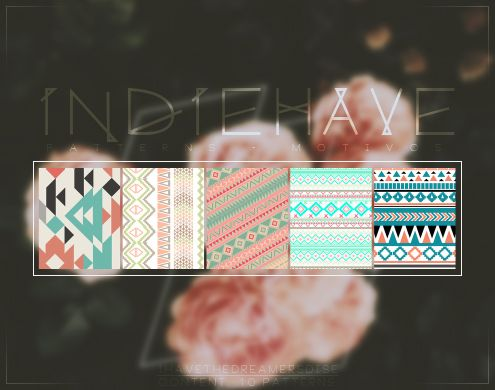 Indiehave - Patterns by coral-m