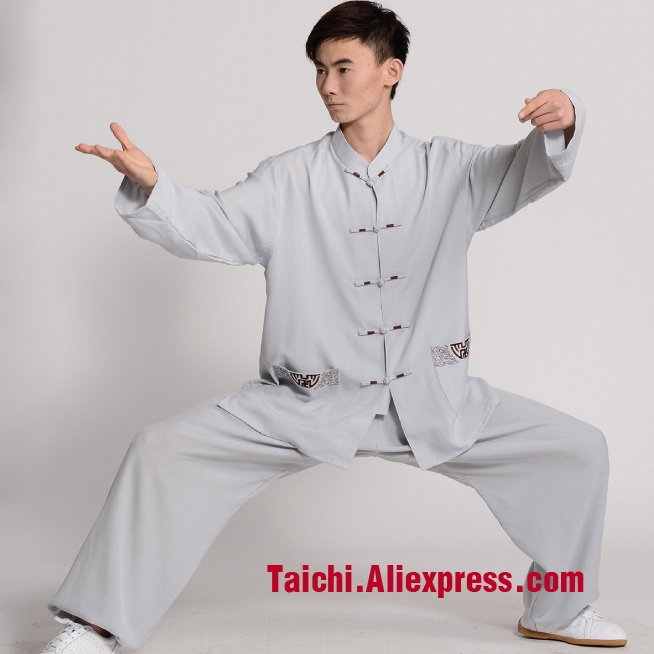 49.9$  Watch now - Flax And Cotton Long Sleeve Short Sleeve Male And Female Summer Taijiquan,Kung Fu,martial Art Suit  Chinese Stly  Jacket+Pants    #buyininternet