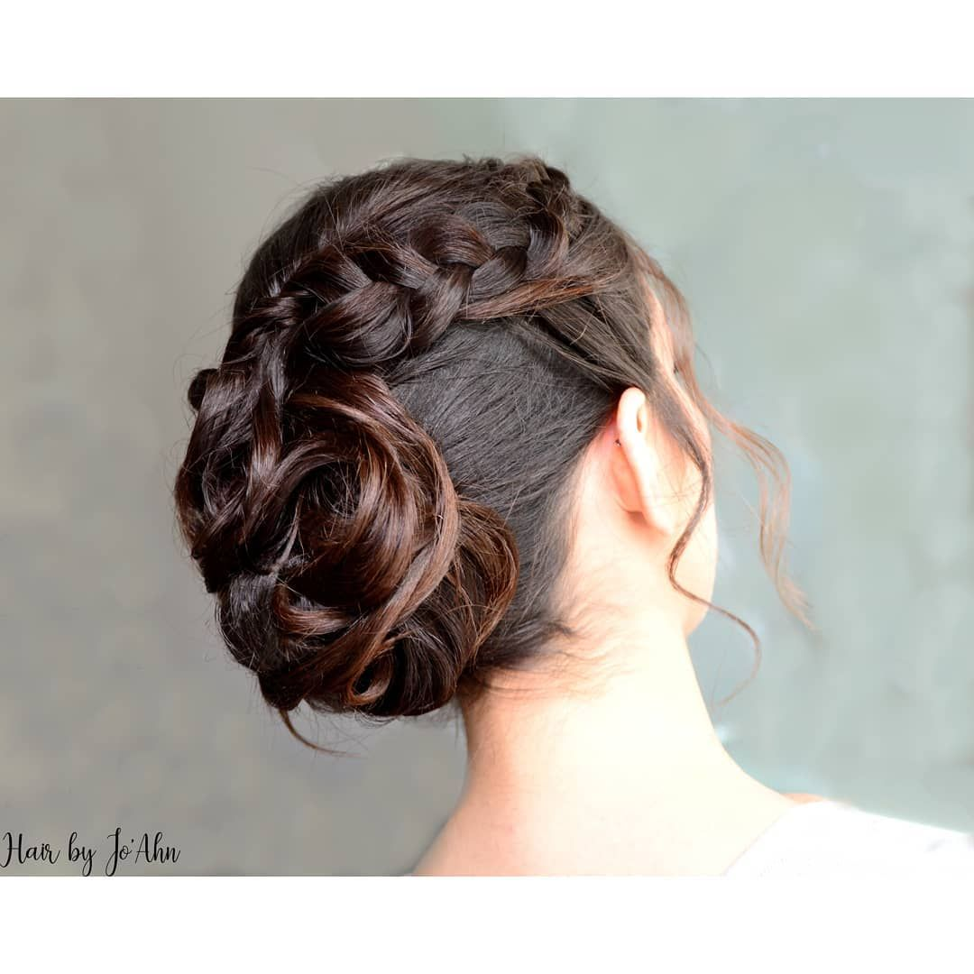 Melissa Mariage En Provence Hairbyjoahn Hair Bun Chignon Cheveux Boucles Couleurvegetale Brune Curls Coiffure Mariage Mariee Coiffage Tr Fashion