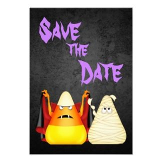 save the date evite for halloween party cute spooky halloween save the date wedding notice - Evite Halloween Party