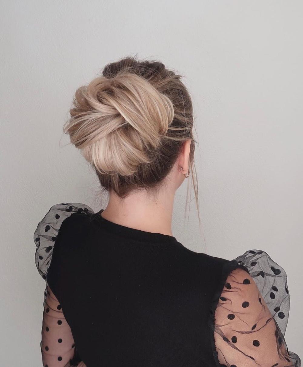 Easy Diy Bun Hairstyles: 20+ DIY Easy Elegant Updo Hairstyles You Can Actually Do