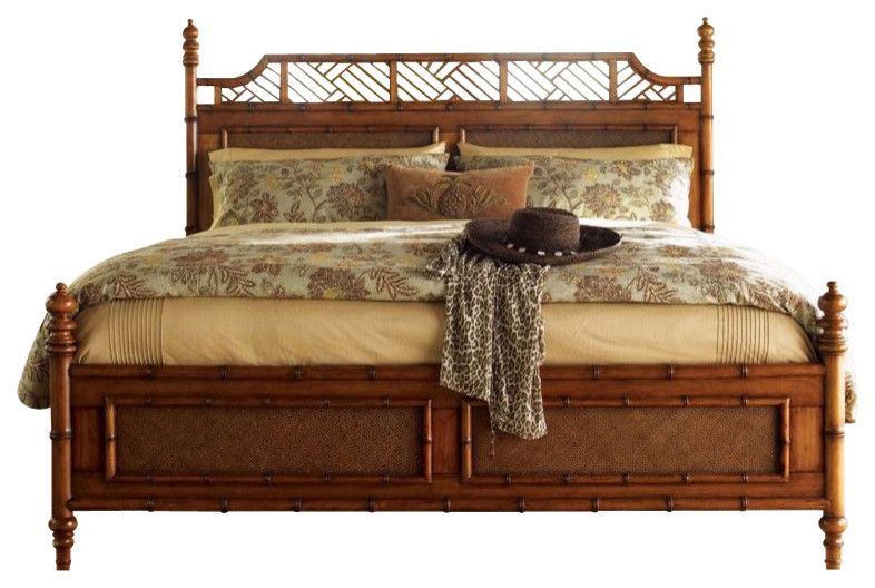 Tommy Bahama Home Island Estate West Indies Bed King Furniture