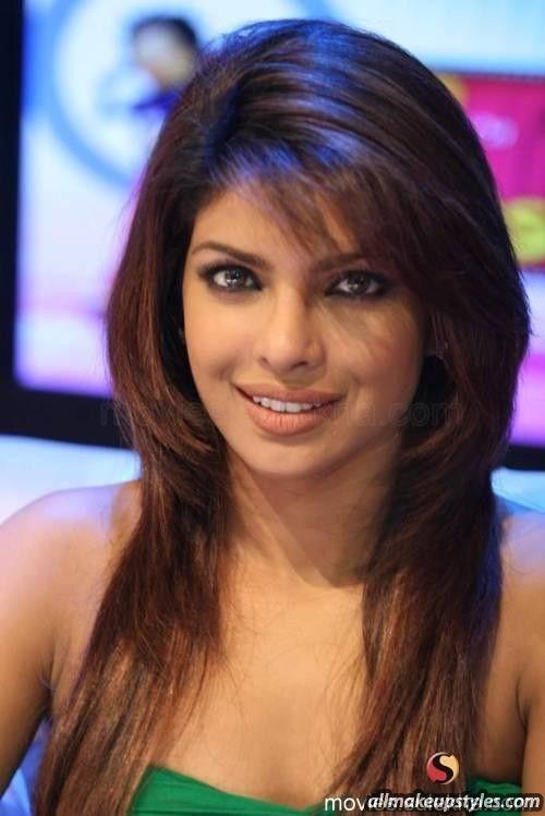 Http Www Allmakeupstyles Com Wp Content Uploads 2014 01 Priyanka Chopra Most Used Hairstyle Jpg Priyanka Chopra Hair Thin Hair Haircuts Long Hair Styles