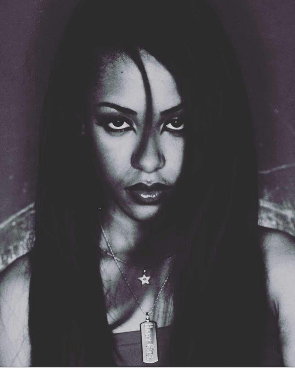 Aaliyah Dana Haughton Tribute Board Image By Angelena Kelley