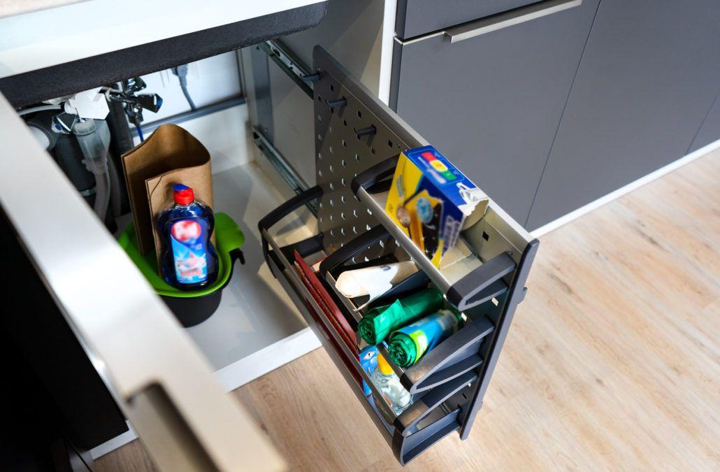 Praktisches Müllsystem: 🍴 Für eine neu gebaute ...