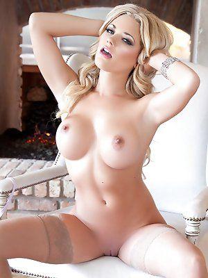 In man naked shower