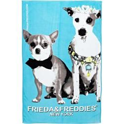 Frieda & Freddies Rantapyyhe turkoosi