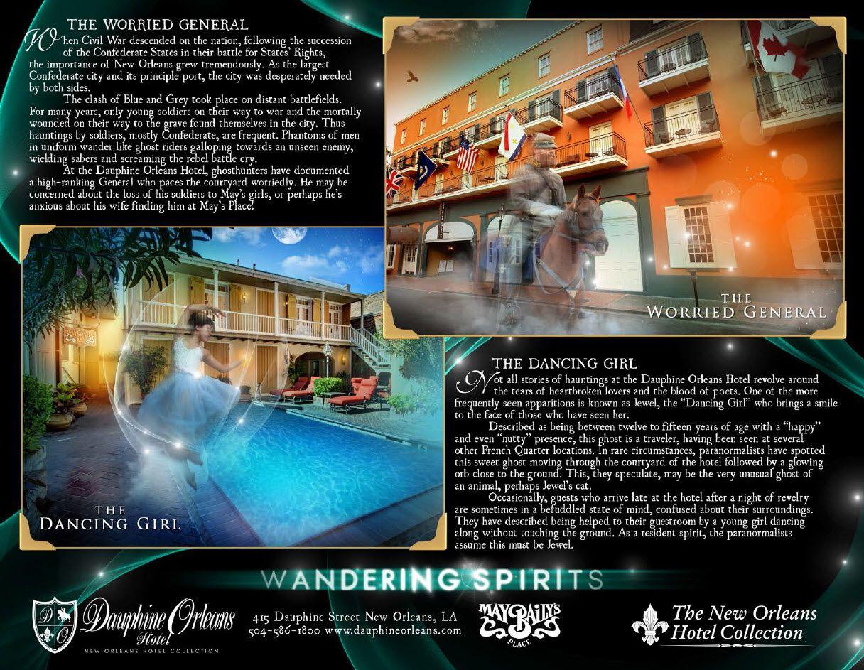 Ghosts Of The Dauphine Orleans Hotel Www Dauphineorleans
