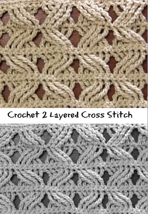 Cross stitch | crochet | Pinterest | Puntadas, Tricotar y Puntos