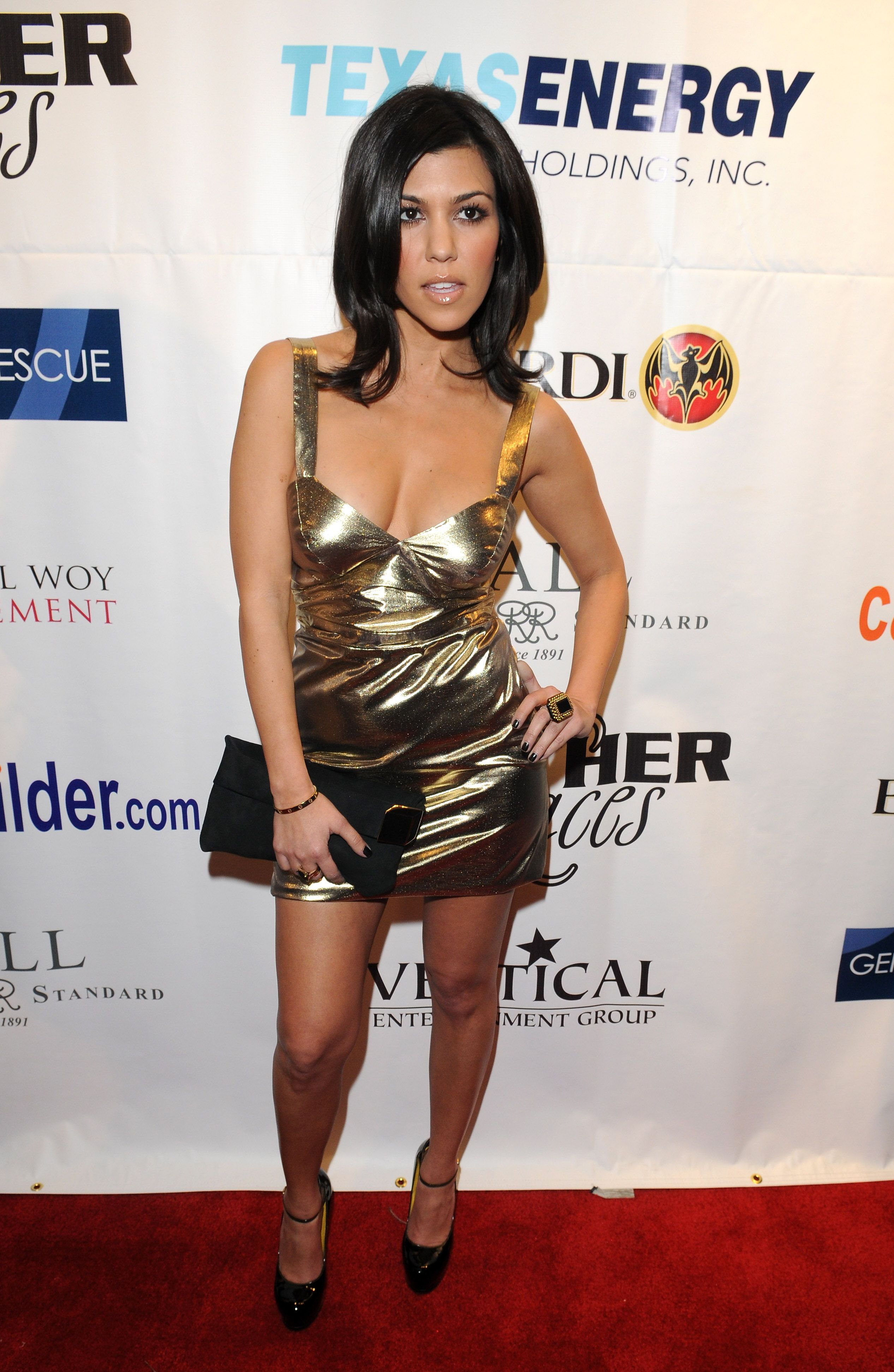 Best Looks: Kourtney Kardashian | January, 30th and Latex