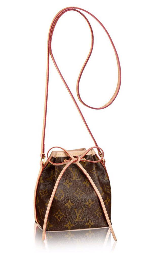 Louis Vuitton Nano Noe Bag   Luxurious Louis Vuitton ...
