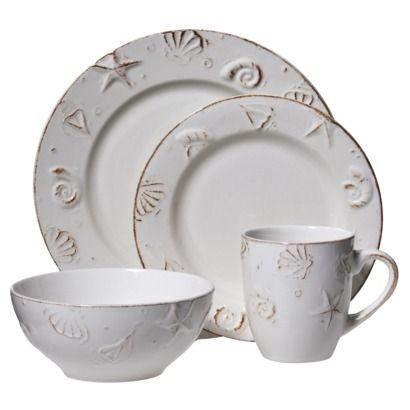 H&ton 16-pc. Dinnerware Set - I bought these (from Macy\u0027s online \u0026  sc 1 st  Pinterest & Hampton 16-pc. Dinnerware Set - I bought these (from Macy\u0027s online ...
