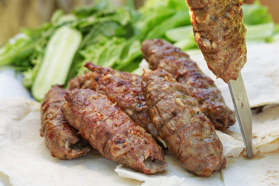 طريقة عمل الكباب التركي Recipe Kofta Recipe Lamb Mince Recipes Egyptian Food