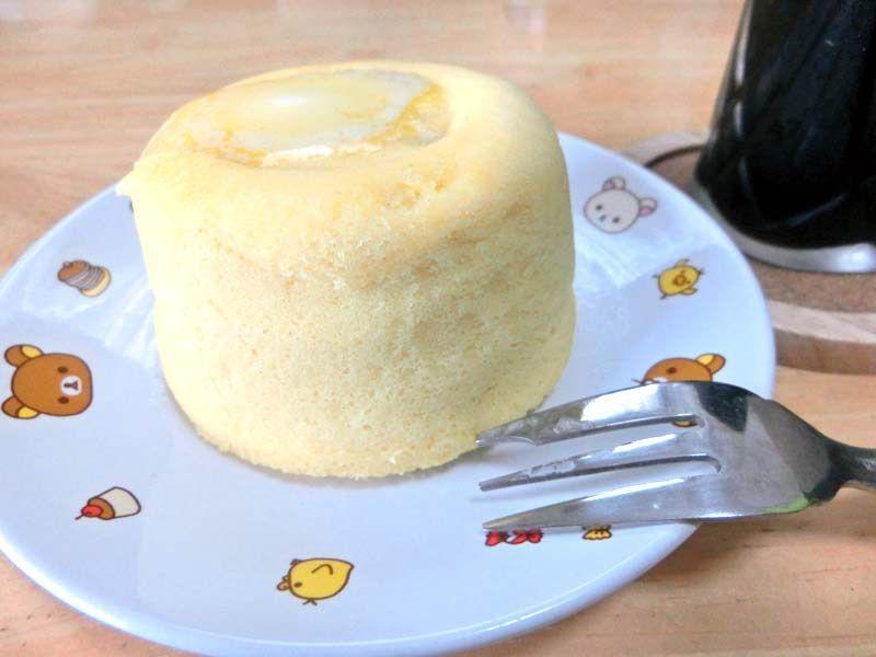 おからパウダーチーズ蒸しパン