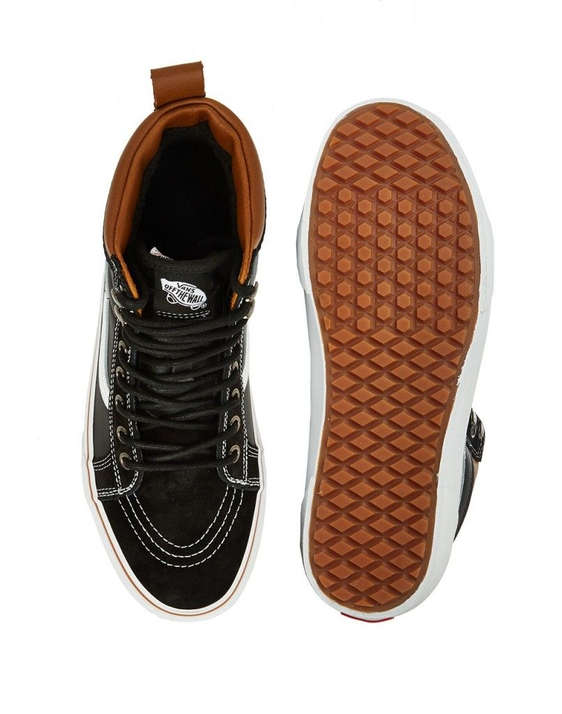 Vans SK8-Hi MTE Trainers in Leather