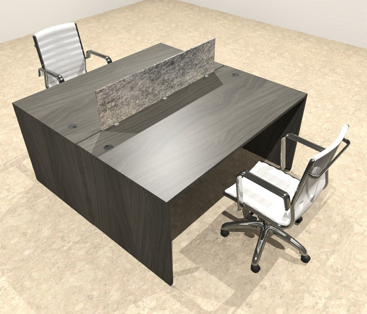 Two Person Modern Accoustic Divider Office Workstation Desk Set Ot Sul Fprg49 In 2020 Desk Set Work Station Desk Workstation