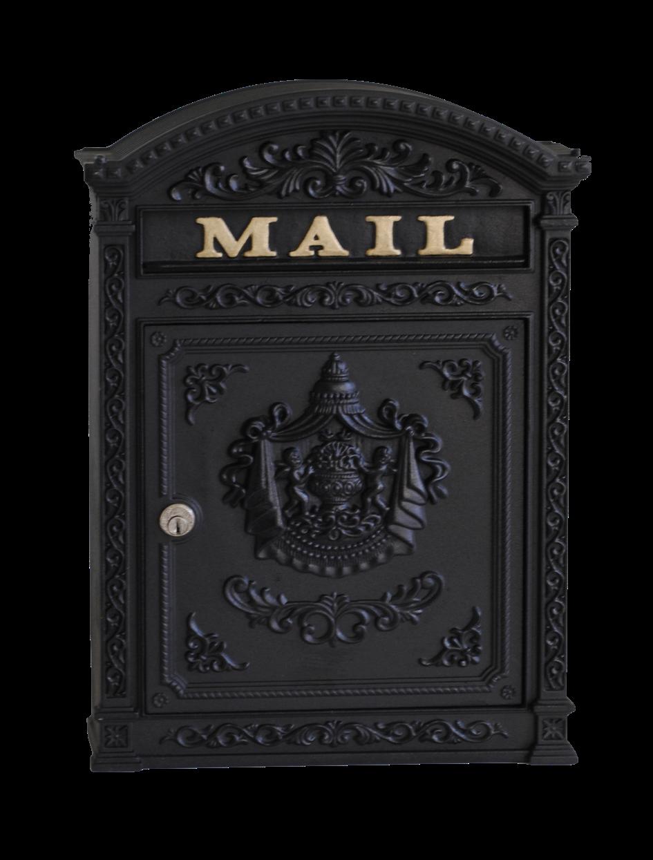Ecco Victorian Locking Mailbox E6 Wall Mount Mailbox Victorian Mailboxes Mounted Mailbox