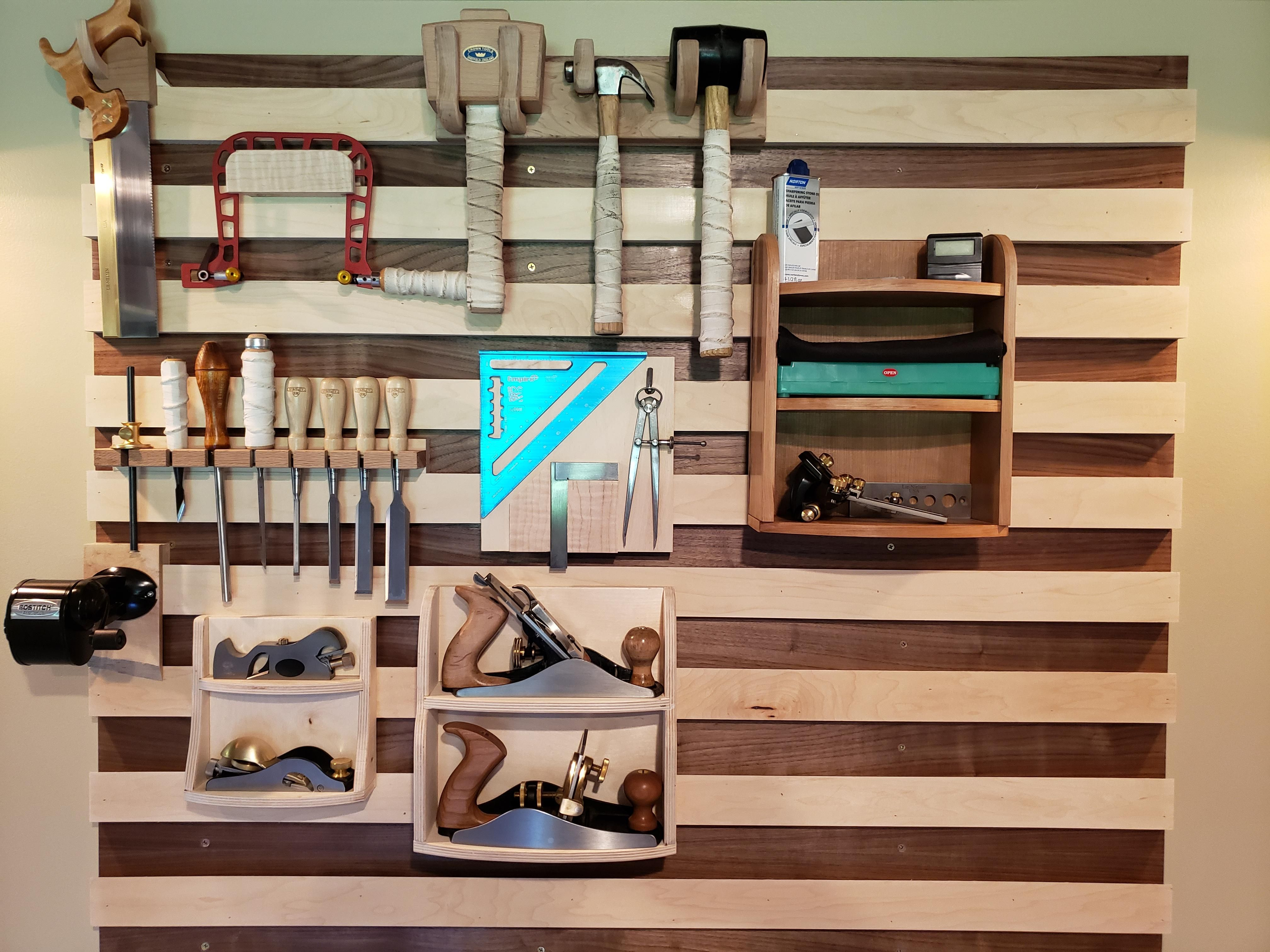 Finally Put A French Cleat Wall In My Little Shop Click To See