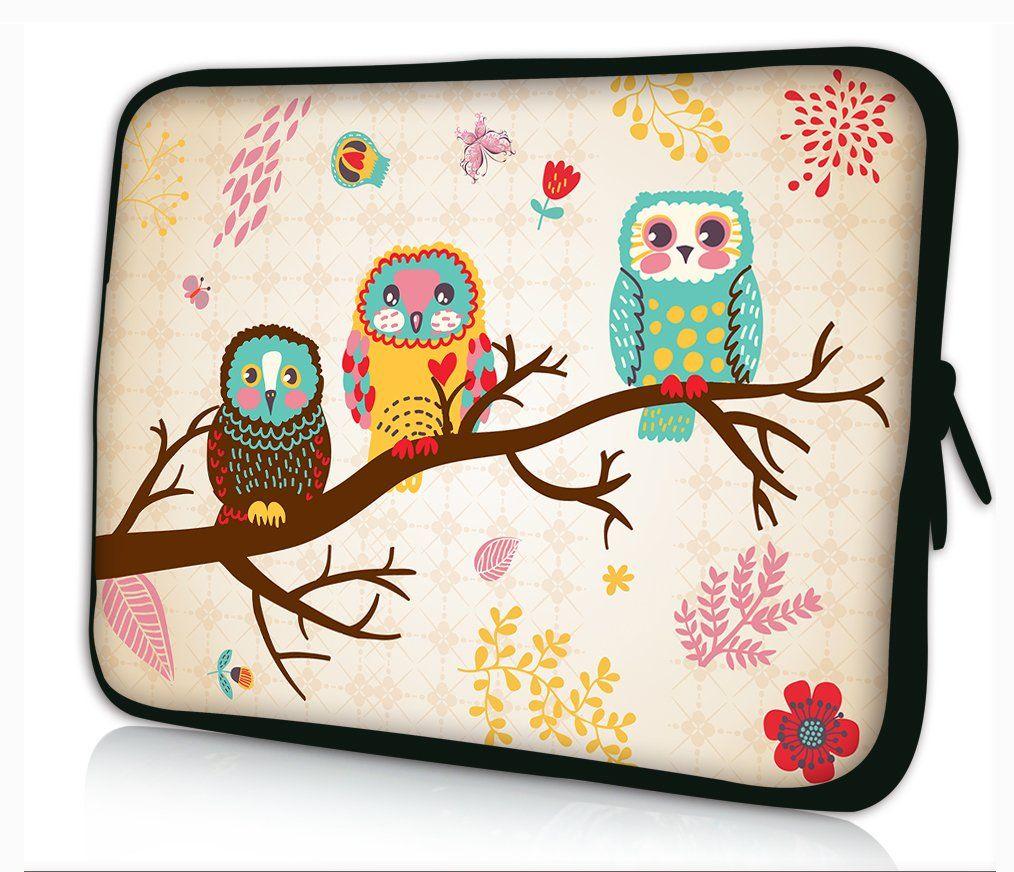 New Fashion Design Cute Owl 17 Quot 17 1 Quot 17 3 Quot Inch Neoprene Notebook Laptop Soft Bag Slee Laptop Bag Case Trendy Laptop Bag Neoprene Laptop Sleeve