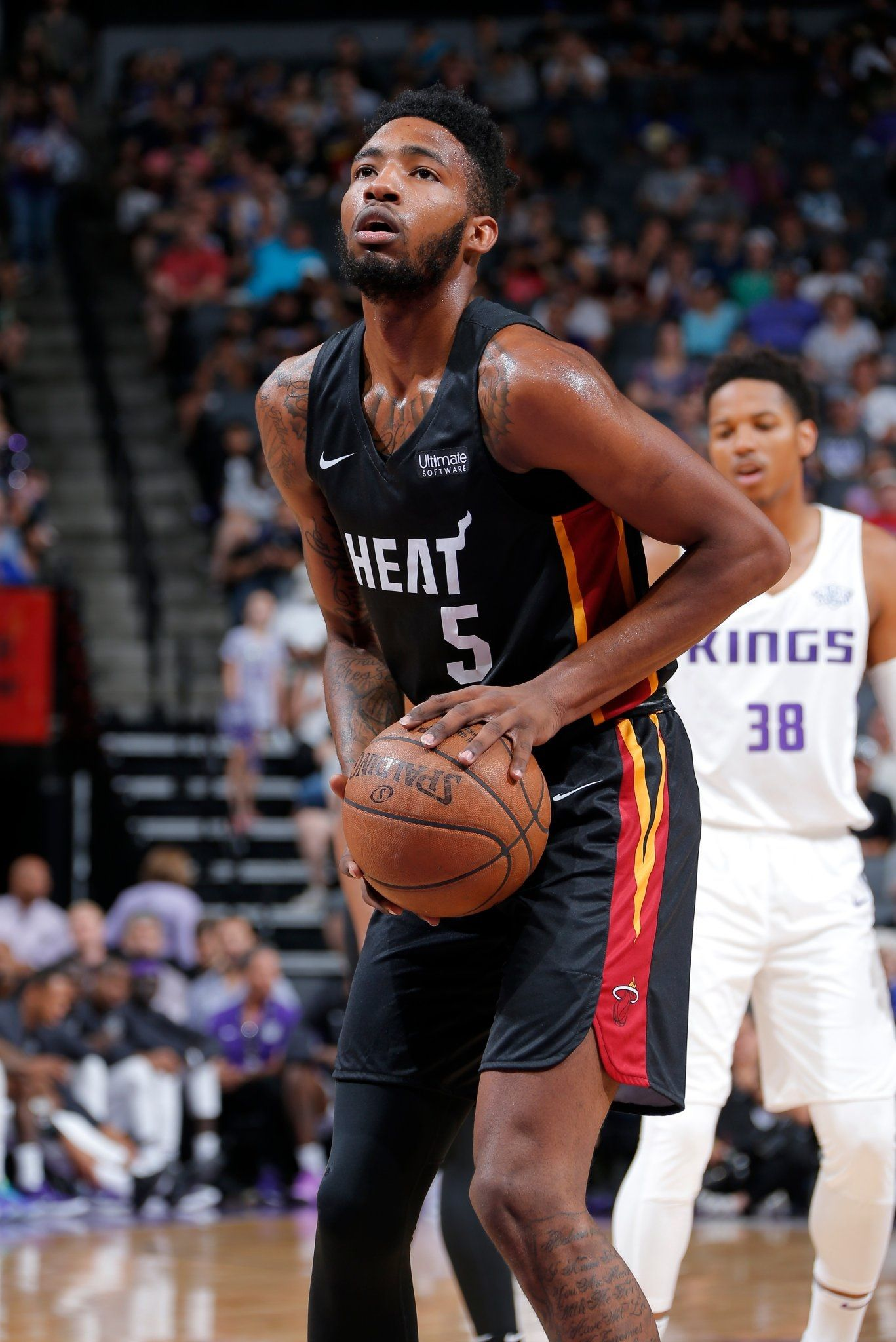 Derrick Jones Jr. Nba players, Miami heat, Players