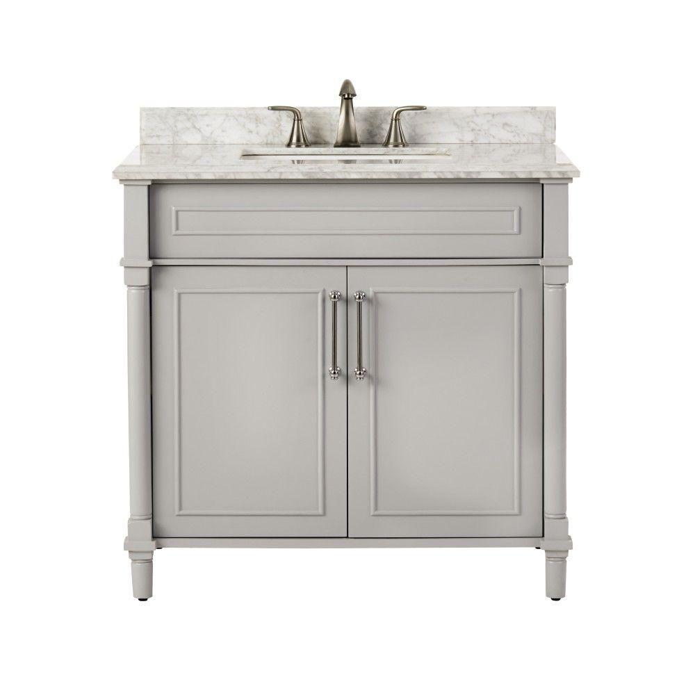 Home Decorators Bathroom Vanities Home Decorators Collection Aberdeen 36 In W X 22 In D Single