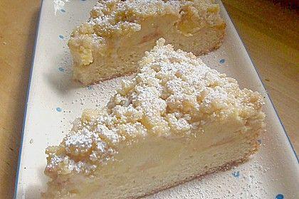 Apfel Streuselkuchen Mit Pudding German Foods Pinterest