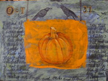 journal page .....by Françoise Barnes