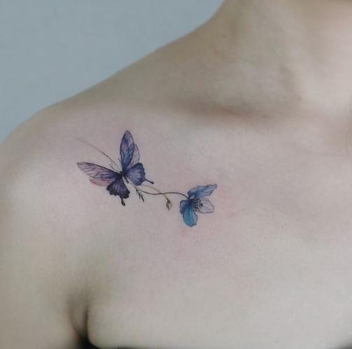 42 Charming Butterfly Tattoo Designs and Meanings for