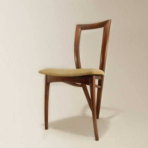 This Three Legged Dining Chair Is A Clean Elegant Design That