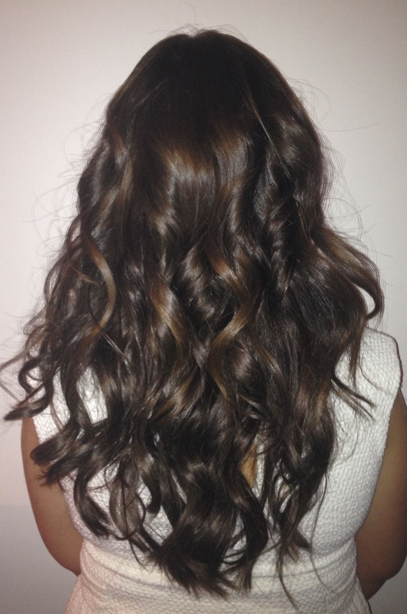 Georgie After Cold Fusion Hair Extensions By Glamfusion Long