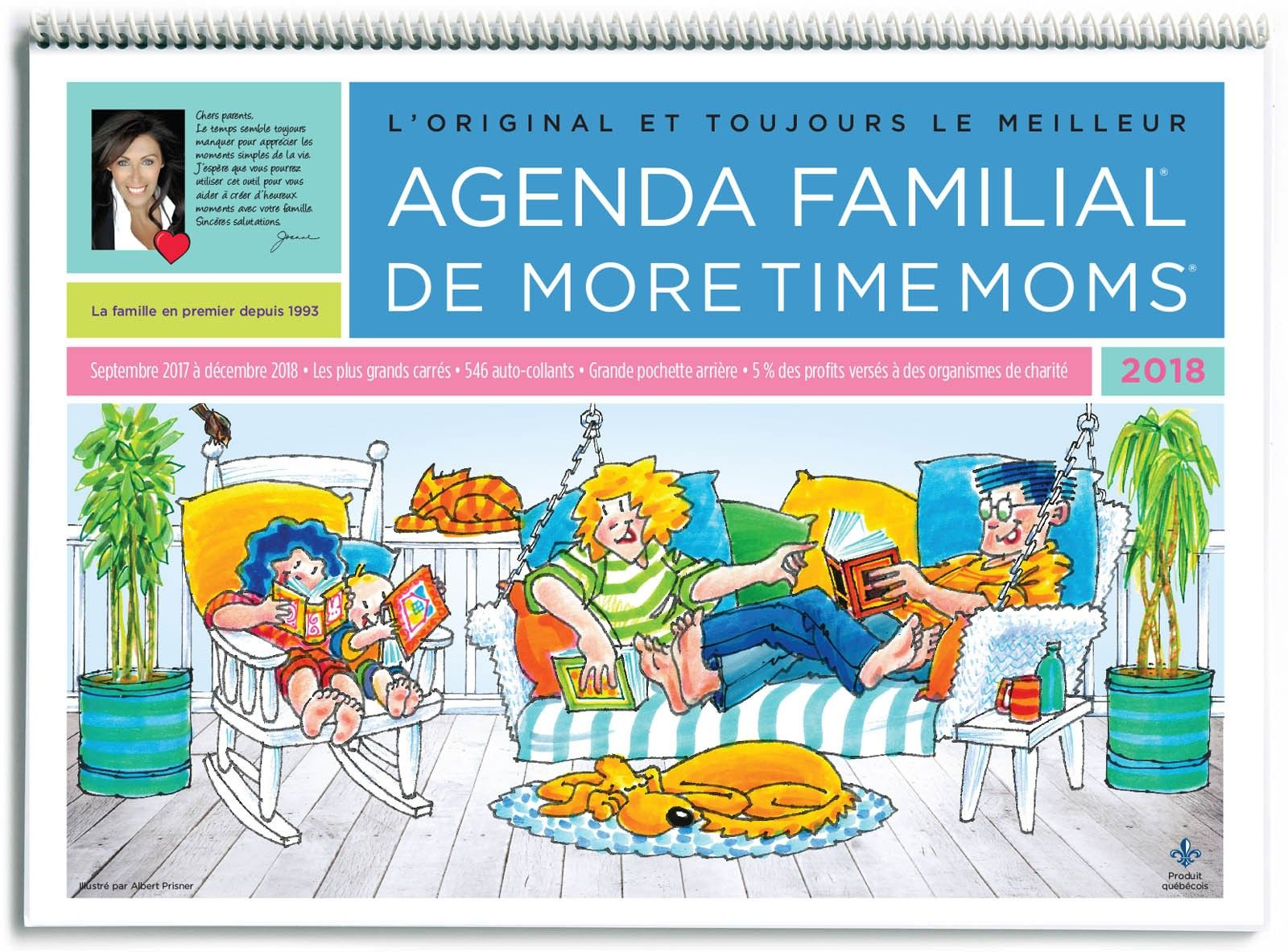 Agenda Familiale 2021 | More Time Moms | Family organizer ...