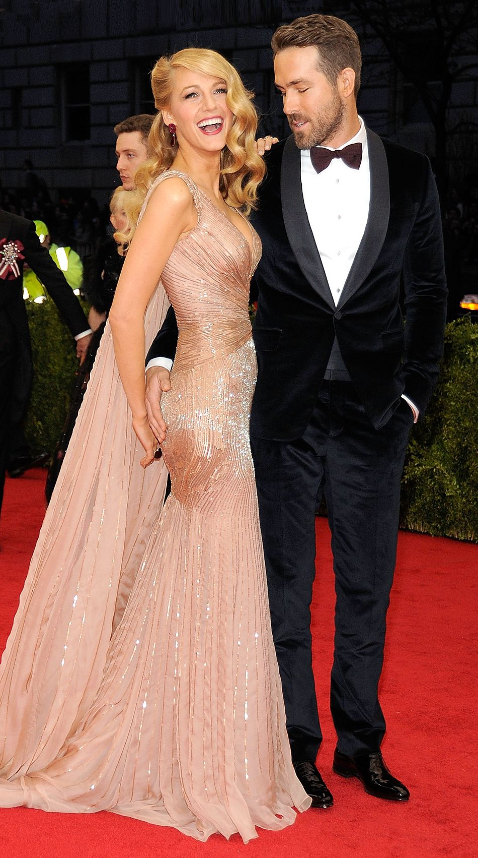 Blake Lively and Ryan Reynolds Go for Coordinating Black