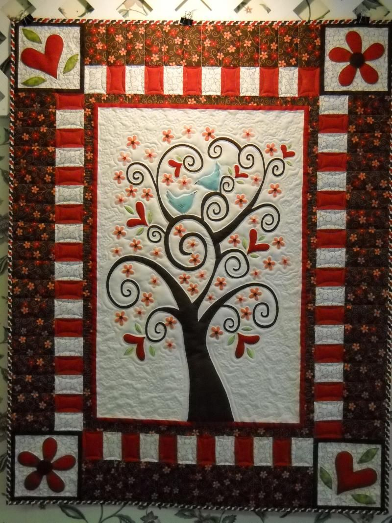 I Love This Quilt It Is Called Amour Panel Quilt What A