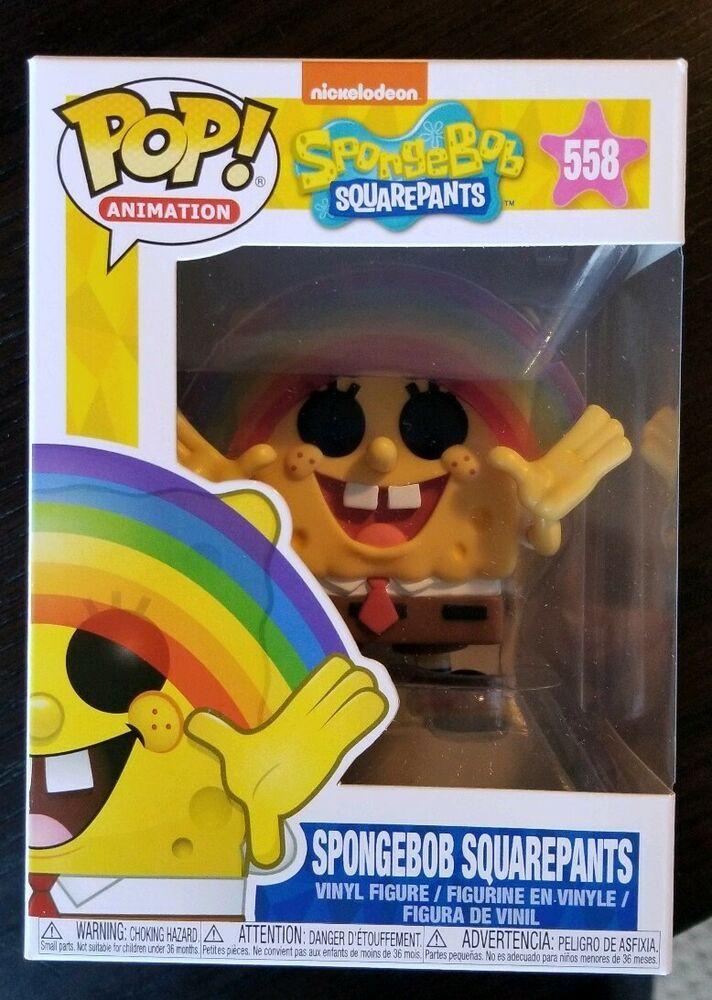 Rainbow Spongebob Figure #558 Animation-SpongeBob Squarepants Funko Pop