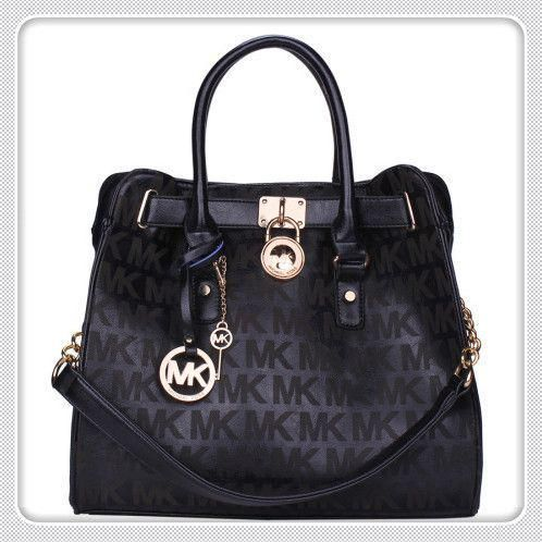 #GameDay #WhatsInYourKors Michael Kors Hamilton Checkerboard Large Black Totes discount - http://goo.gl/94CtLW
