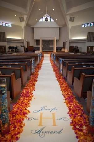 Nice Trendy wedding church alter decor aisle runners Ideas -   12 wedding Church fall ideas